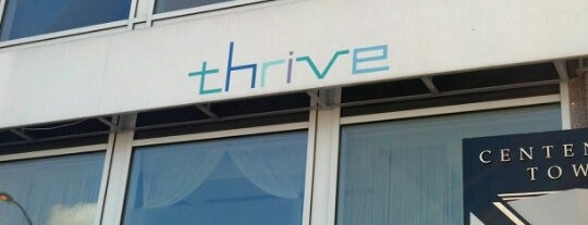 Thrive is one of ACVB'S CENTENNIAL COCKTAIL.