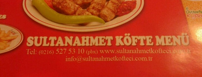 Sultanahmet Köftecisi is one of I m like :).