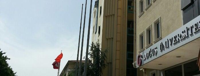 Doğuş Üniversitesi is one of benim.