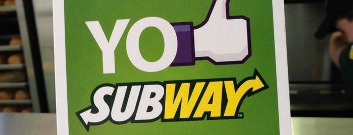 Subway is one of yae.
