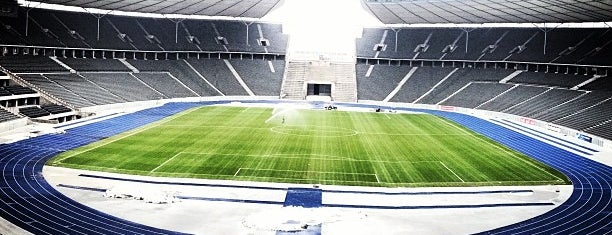 Olympiastadion is one of Berlin #4sqcities.