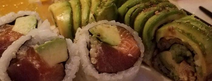 Akai Sushi is one of Locais curtidos por Ashleigh.