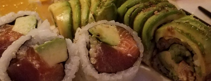 Akai Sushi is one of สถานที่ที่ Ashleigh ถูกใจ.