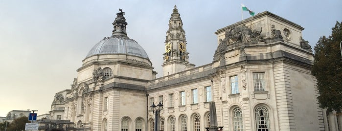 Cardiff City Hall is one of Local's Guide to Cardiff.