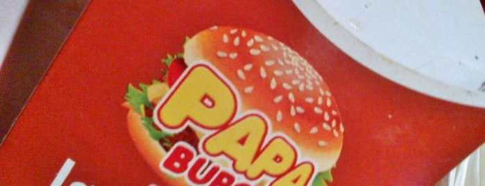 Papa burguer is one of Locais curtidos por YUSEI.