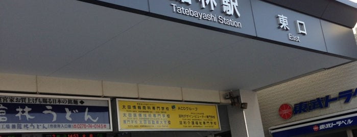 Tatebayashi Station (TI10) is one of Masahiro : понравившиеся места.