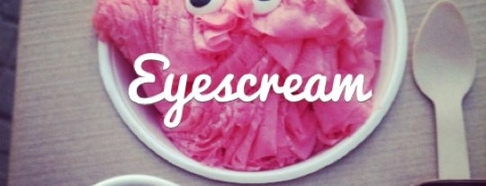 Eyescream & Friends is one of De comer.