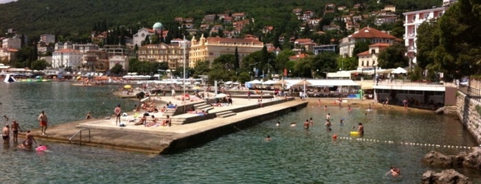 Opatija beach is one of For Croatia.