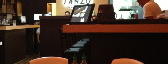 Tanzo Sushi Bar is one of Posti che sono piaciuti a Fernanda.