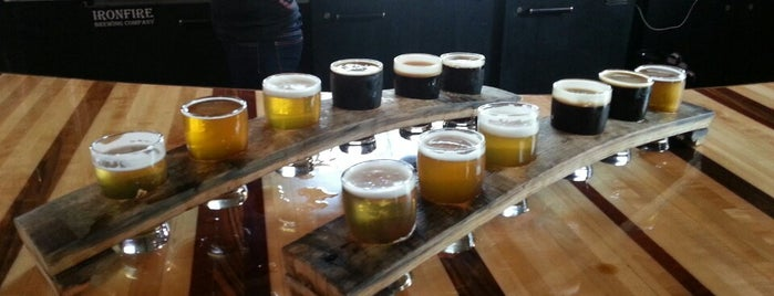 Ironfire Brewing Company is one of San Diego Breweries.