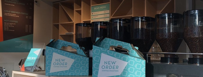 New Order Coffee is one of Detroit.