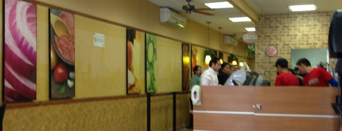 Subway is one of Sub M.