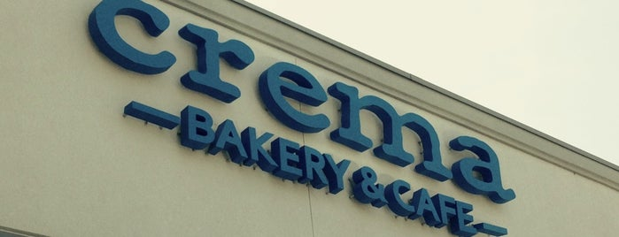 Crema Bakery is one of Austin + Cedar Park: Coffee/Sweets.