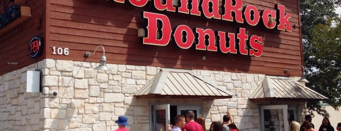 Round Rock Donuts is one of TV Food Spots: Austin Metro Area.