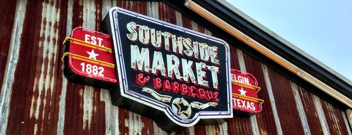 Southside Market & BBQ is one of Best BBQ in Texas!.