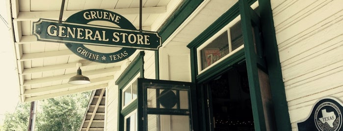 Gruene General Store is one of New Braunfels.