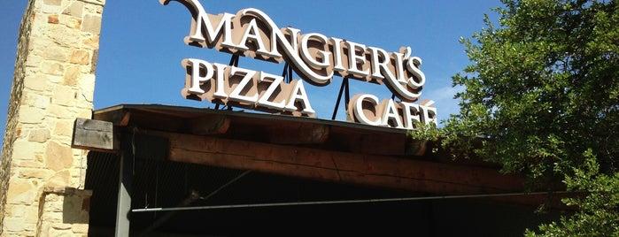 Mangieri's Pizza Café is one of Orte, die Gregg gefallen.