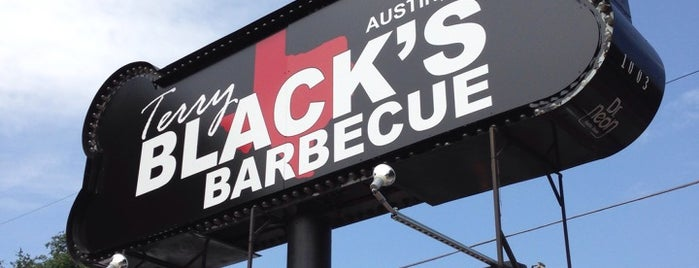 Terry Black's BBQ is one of Austin.