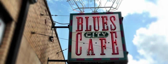 Blues City Cafe is one of Memphis.