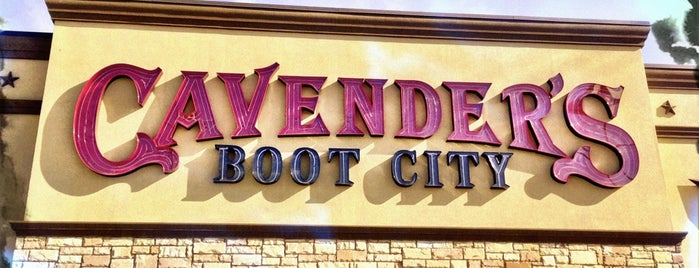 Cavender's Boot City is one of Shopping/Services.