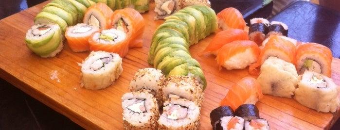 Nanatsu Sushi is one of Tempat yang Disukai Hugo.