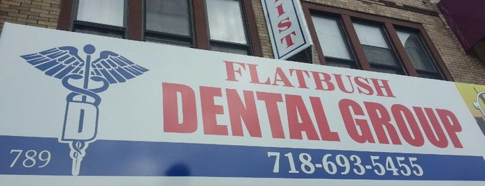 Flatbush Dental Group is one of Signage.
