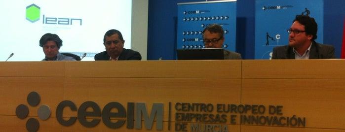 Ceeim  - Centro Europeo de Empresas e Innovación de Murcia is one of cuadrodemando : понравившиеся места.