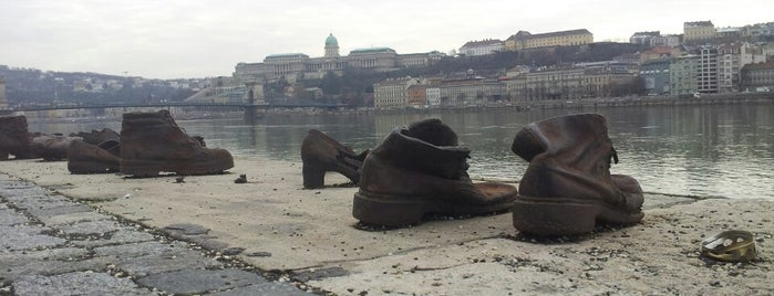 Chaussures au bord du Danube is one of Budapest.