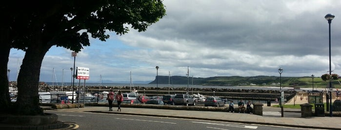 Ballycastle Harbour is one of Mark's list of Ireland.