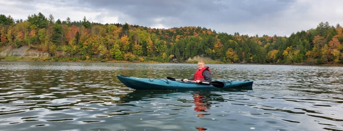 Waterbury Reservoir is one of 🦠 Summer 2020.