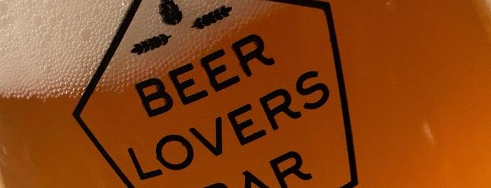 Beerlovers Bar is one of Beer / RateBeer Best in Belgium.
