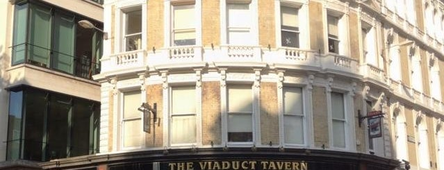 Viaduct Tavern is one of London.