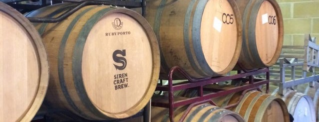 Siren Craft Brewery is one of Beer / RateBeer's Top 100 Brewers [2015].