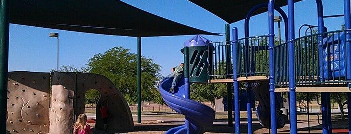 Paseo Highlands Park is one of Tempat yang Disukai Joe.