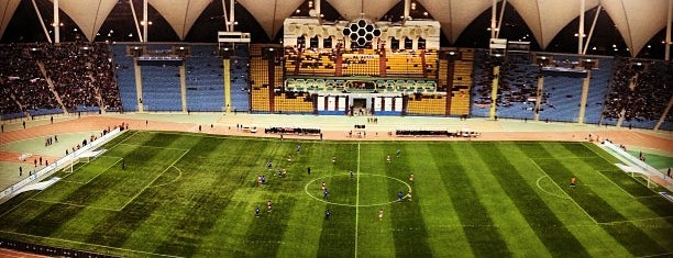 King Fahad Stadium is one of Best Places in Riyadh.