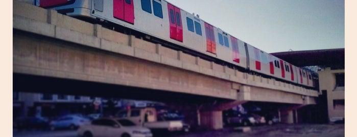 Batımerkez Metro İstasyonu (M3) is one of Ankara Metro İstasyonları | Ankara Subway Stations.