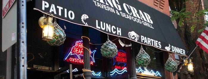 King Crab Tavern & Seafood Grill is one of WBEZ Member Card Restaurant Discounts.