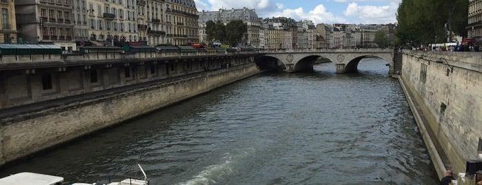 La Seine is one of PARIS.
