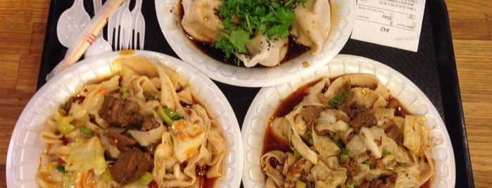 Xi'an Famous Foods 西安名吃 is one of 11 Howard + Foursquare Guide to Chinatown.