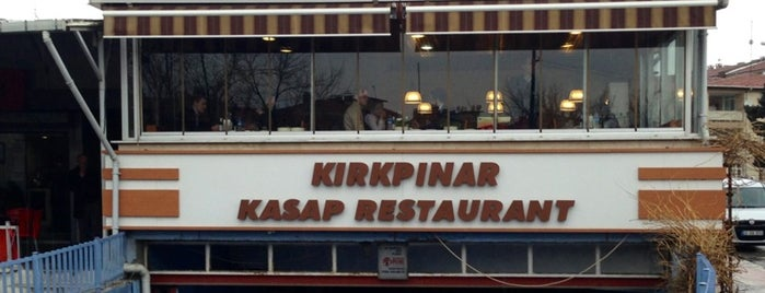 Kırkpınar Kasap Restaurant is one of Mekanlar.