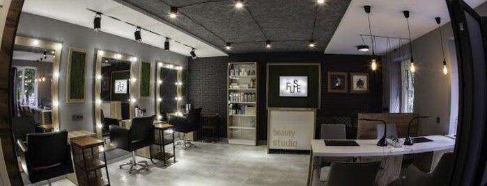 "Beauty Studio ""FUSE"" is one of Orte, die Miroslav gefallen."