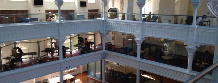 SCAD Student Center is one of SCAD Buildings.