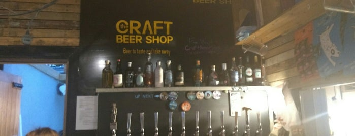 The Craft Beer Shop is one of Lugares favoritos de Carl.