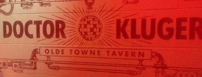 Dr. Kluger's Olde Towne Tavern is one of London Bars and Pubs.