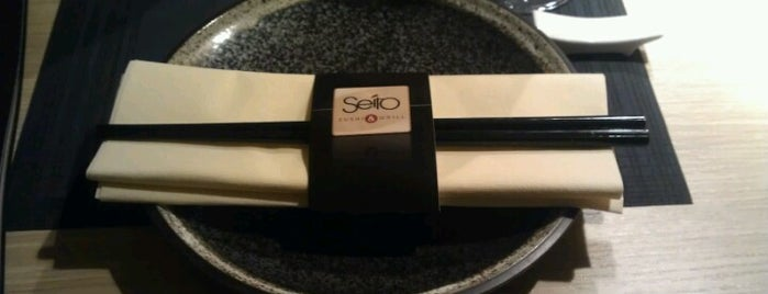 SEITO Sushi & Grill is one of Lugares favoritos de Camille.