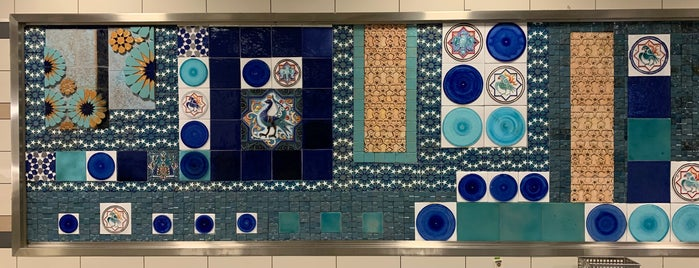 Yamanevler Metro İstasyonu is one of Posti che sono piaciuti a Çiğdem.