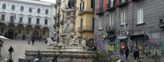 Fontana di Monteoliveto is one of Locais salvos de Salvatore.