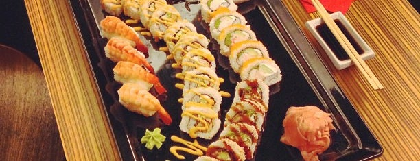 Sushi Plaza is one of Sushi Sampler.