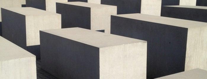 Mémorial aux Juifs assassinés d'Europe is one of Berlin.