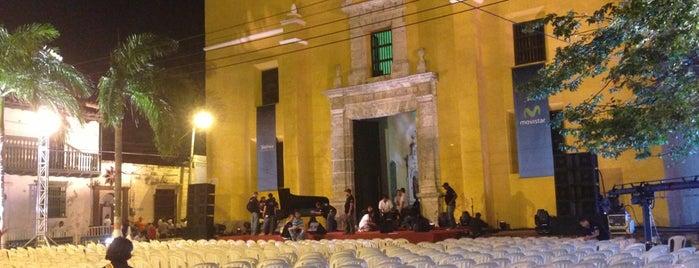 Plaza De La Trinidad is one of Cartagenias.
